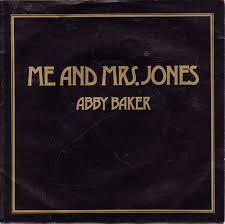 Abby Baker - Me And Mrs Jones (1986, Vinyl) | Discogs