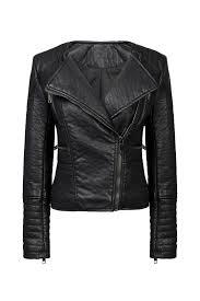 collarless biker jacket us 50 99 yoins