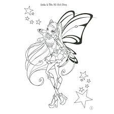 Tổng hợp 50 hình tranh tô màu công chúa Winx đẹp nhất dành cho bé ...