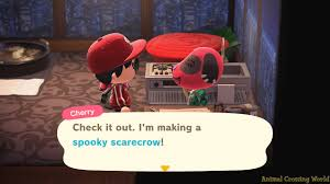 Spooky Set Halloween Pumpkin Items List Diy Crafting Recipes How To Get In Animal Crossing New Horizons