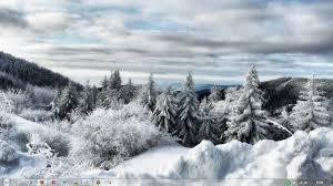 تحميل الشتوية الابيض الموضوع ل Windows 7 شاشة التوقف خلفيات