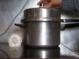 prestige aluminium pressure cooker old