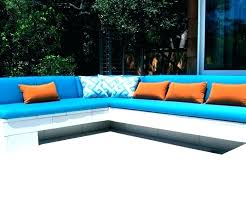 extra long outdoor bench cushions extra
