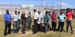 Alvin Johnson practice facility unveiled - Stabroek News