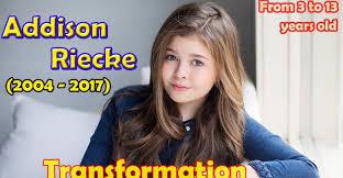 Addison Riecke Wiki Bio, Net Worth, Parents, Family, Weight - Marriedline