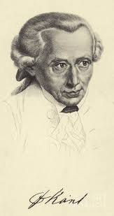 Immanuel Kant, 1724-1804, German philosopher and writer Drawing by German  School