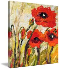 Download Abigail Snyder | p - 559x650 | Poppies painting