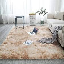 Amazon Com Fuzzy Abstract Area Rugs For Bedroom Living Room Fluffy Shag Fur Rug For Kids Nursery Dorm Room Cozy Furry Rugs Plush Throw Rug Shaggy Decorative Accent Rug For Indoor Home Floor