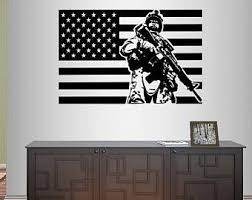 Army Wall Decals Etsy