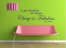 Classy Fabulous Coco Chanel Decal Great For Wall Decor Qu9 642782907131 Ebay