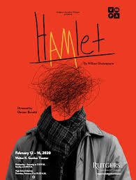 Theater Program Continues 2019-20 Season With William Shakespeare's Hamlet  : Rutgers-Camden Campus News