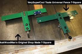 How To Make Your Own Biesemeyer Style Table Saw Fence System Verysupercool Tools