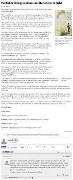dalang publishing page