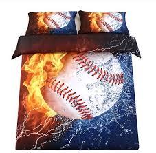 com sdiii 2pc baseball bedding