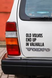 Stickers For Volvo Vikings Sticker Old Volvos End Up In Valhalla Volvo Car Decal Vinyl Sticker Bumper Sticker Vikings Tv Show Stickers In 2020 Volvo Vinyl Car Stickers Vikings Tv Show