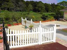 Plastic Fencing Picture Gallery Pvc Plastic Picket Fence