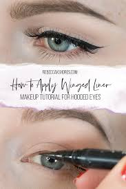 tips for hooded eyes makeup tutorial