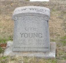 Effie Young (1902-1922) - Find A Grave Memorial