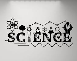 Science Wall Decal Etsy