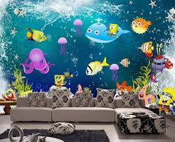 3d Photo Wallpaper Custom Kids Room Murals Non Woven Wallpaper Cartoon Spongebob Tv Background Wall Photo Wallpaper For Walls 3d Wallpaper For Walls 3d Wall Photo Wallpaperphoto Wallpaper Aliexpress