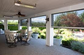 electronic porch screens