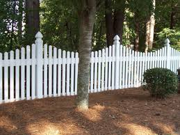 White Vinyl Picket Fence Panels Equalmarriagefl Vinyl