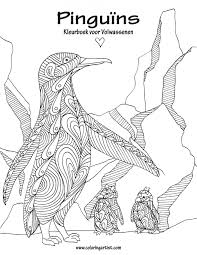 Amazon Com Pinguins Kleurboek Voor Volwassenen 1 Volume 1