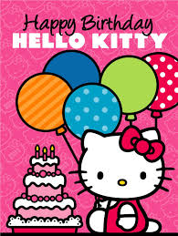 Sanrio Hello Kitty Cumpleanos De Hello Kitty Postales