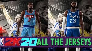 NBA 2K20 - All Team Jerseys/Uniforms In ...