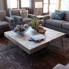reclaimed wood square coffee table 36