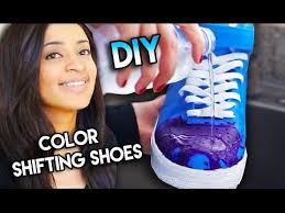 color changing shoes with water heat