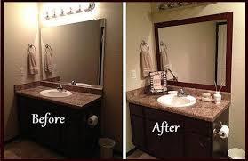 bathroom mirror frame diy interior