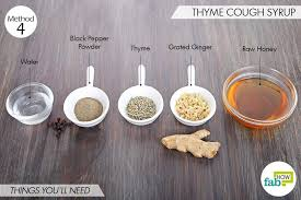 homemade cough syrup 6 most powerful
