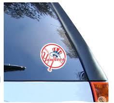 New York Yankees 8 X 8 Team Logo Die Cut Decal Ny Sports Shop