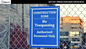 Safety First Temporary Fencing Around A Construction Site Chainwire Fencing Specialist