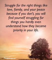 inspirational quotes about life and struggles family quotes