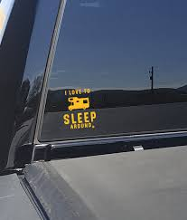 Sleep Around Camping Decal Sleeparoundbrand Com