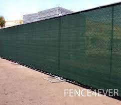 Fence4ever Dark Green 8 X50 8ft Tall Fence Privacy Screen Windscreen Shade Cover Mesh Fabric Tarp Walmart Com Walmart Com