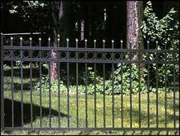 Jerith Aluminum Fence Regency Buckingham Plus W Rings Academy Fence Company Nj Pa Ny