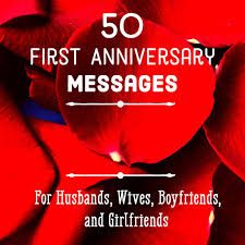 first anniversary eessages