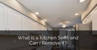 what is a kitchen soffit and can i