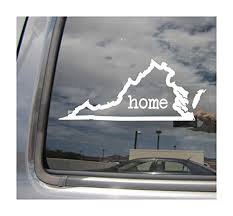 Size 15cm Long Decals Bumper Stickers Virginia State Map Usa Flag Decal Sticker Car Vinyl Pick Size Die Cut No Background Itrainkids Com