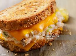 Grilled Cheese Seafood Salad Sandwich ...