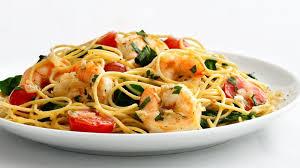 skinny garlic shrimp pasta recipe