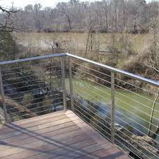 Modern Design Balcony Round Handrail And Post Stainless Steel Railing For Sale Cable Railing Manufacturer From China 107935755