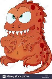 Monstruo Dinosaurio Personaje De Dibujos Animados Para Ninos