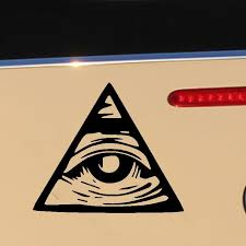 2020 Wholesale Fashion Sticker Decals Car Body Stickers Windshield Glass Scratches Wall Bumper Truck Accessories Jdm Illuminati All Seeing Eye From Zhangmin771215 24 13 Dhgate Com