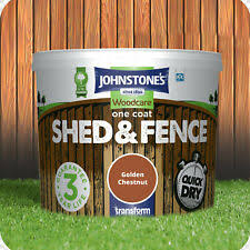 Johnstone S Woodcare One Coat Shed And Fence 5l Forrest Green For Sale Online Ebay