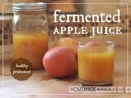fermented apple juice homemade mommy