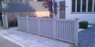 Front Fence Ideas Contemporary Front Garden Fence And Driveway Fence Design Front Garden Diy Garden Fence